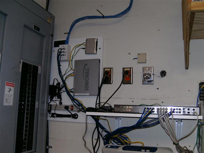 New Telecom Board and Switch