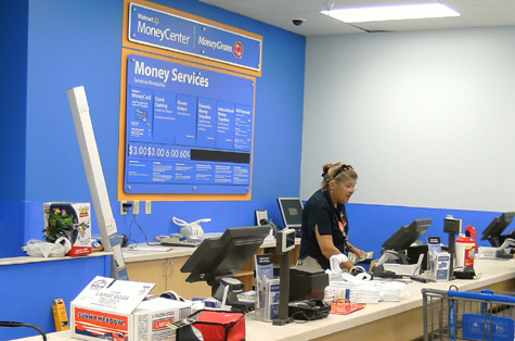 Wal Mart Customer Service Desk