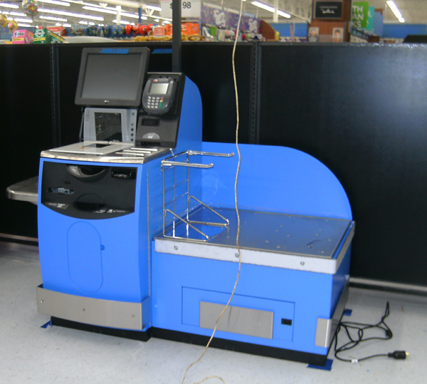 Wal Mart Self Serve Kiosk