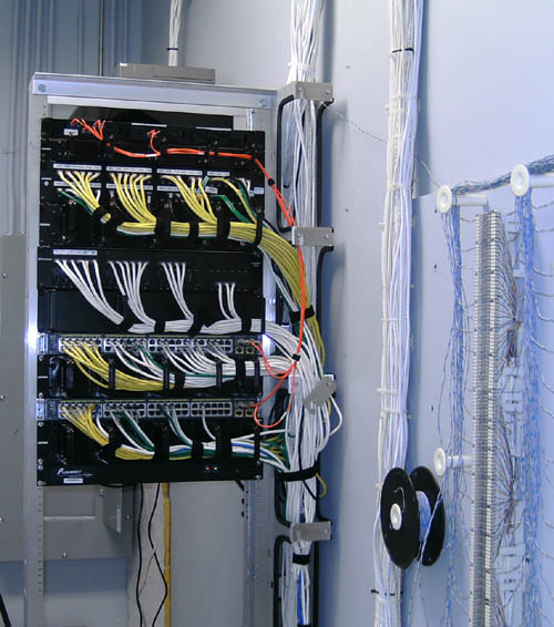 Relay Rack for Store Front