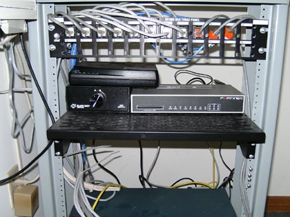 New Fortinet Router with A - B Phone Switch